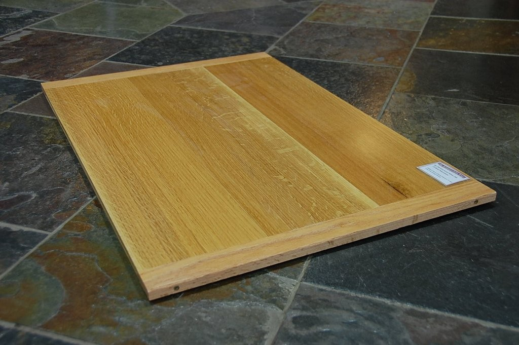 Select Rift and Quartered White Oak, Oil Modified Polyurethane